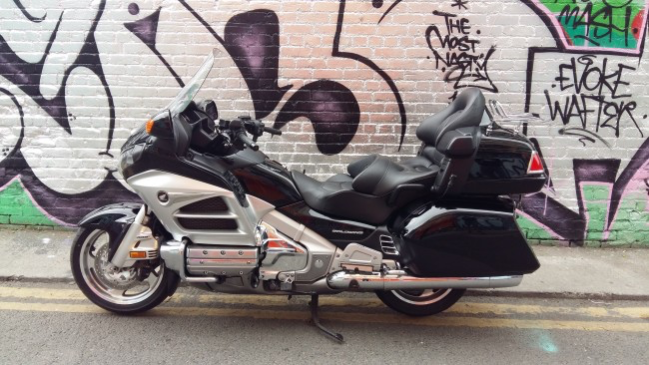 13 Honda Goldwing GL1800 full