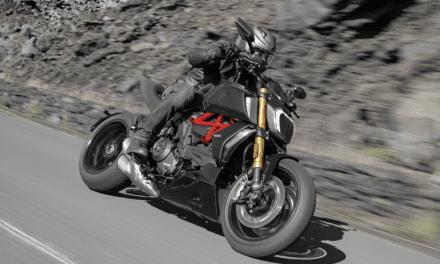 Ducati Diavel 1260 At Geneva Motor Show