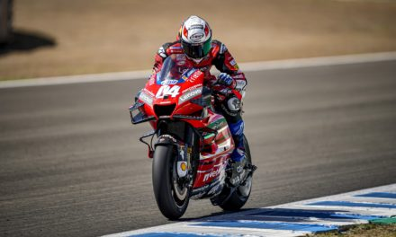 MotoGP Pre-Race Testing In Jerez For The Ducati Team Riders