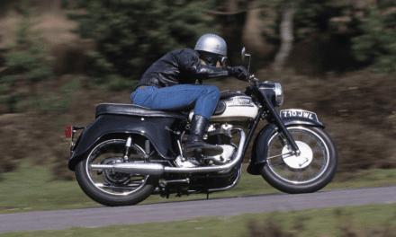 Classic 1960 Triumph T110